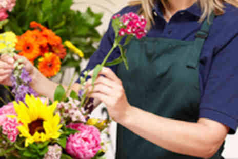 The House - Half Day Flower Arranging Course - Save 54%