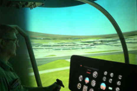 Hields Aviation - Helicopter simulator experience and taster flight with Hields Aviation - Save 60%