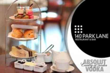 140 Park Lane - Absolut Cocktail Afternoon Tea With A Twist For Two - Save 64%