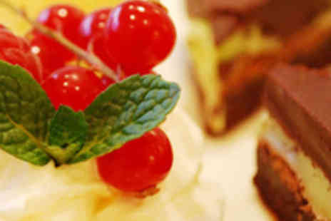 Cordial and Grace - Homemade Cakes and Bubbly Each for Two - Save 56%