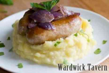 The Wardwick Tavern - Two Course Pub Meal For Two - Save 55%
