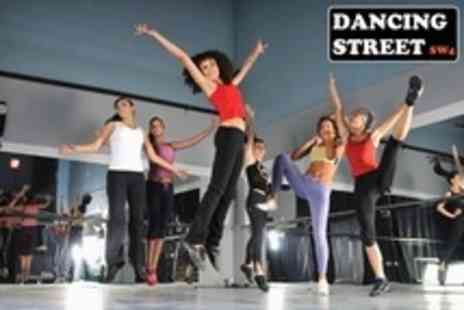 Dancing Street SW4 - Four Hours of Fitness Classes - Save 50%