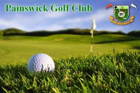 Painswick Golf Club - 18 Holes of Golf For Two Plus Warm Up With PGA Professional - Save 60%