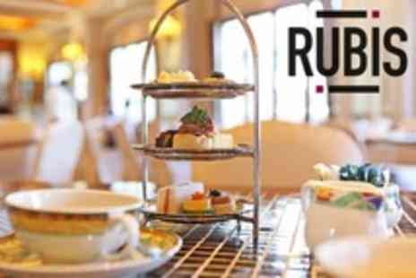 Rubis - Afternoon Tea For Two With Cocktails  - Save 50%