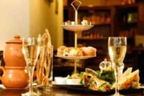 Amico Bio - Vegetarian Afternoon Tea for 2 with Bubbly - Save 40%