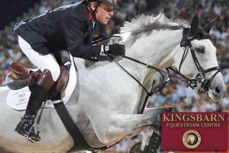 Kingsbarn Equestrian Centre - An Evening of Showjumping With British Champion Tim Stockdale - Save 60%