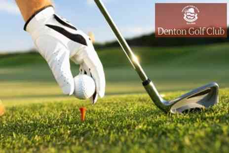 Denton Golf Club - 18 Holes of Golf For Two With Refreshments - Save 62%