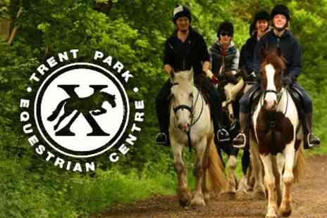 Trent Park Equestrian Centre - Half Day Equestrian Experience - Save 61%