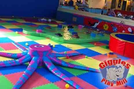 Giggles Play Mill - Themed Birthday Party For Ten Children - Save 60%