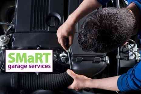 SMaRT Garage Services - MOT, Car Health Check, and Mini Valet Service - Save 61%