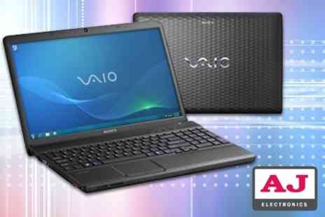 AJ Electronics - Sony Vaio 15.5 Laptop - Save 33%