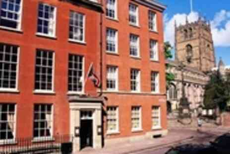 Lace Market Hotel - Boutique Nottingham Break for Two - Save 43%
