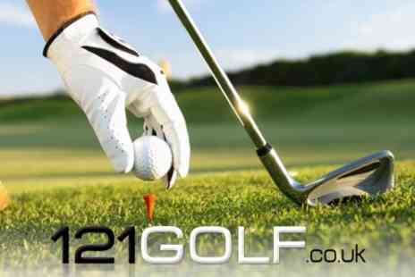 121 Golf.co.uk - Two Golf Lessons With PGA Golf Instructor  - Save 60%