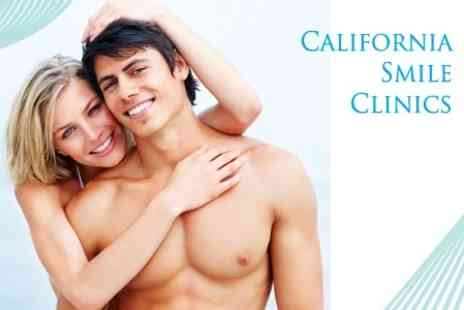 California Smile Clinic - One Hour of Laser Teeth Whitening - Save 73%