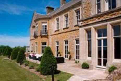 Wyck Hill House Hotel & Spa - Cotswolds Fine-Dining Getaway for 2 - Save 50%