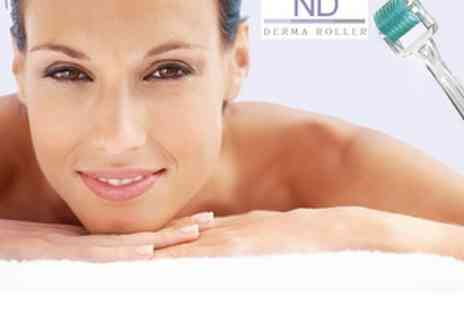 Enhance Beauty Clinic - Facial Derma Roller with Case - Save 73%