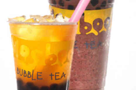 Mooboo - Two Large Bubble Teas with Choice of Two Toppings - Save 51%