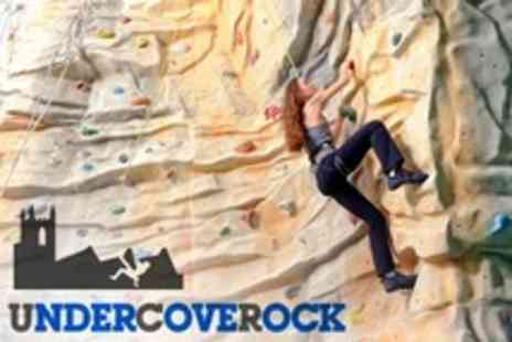 Undercover Rock - Rock Climbing Taster Sessions For Adult or Family of Four - Save 53%