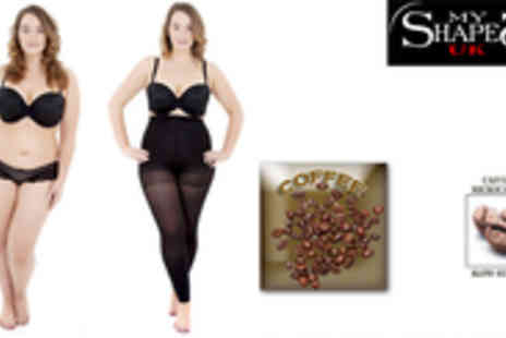 My Shapes UK - Catch that cellulite off guard with these coffee slimming leggings - Save 73%