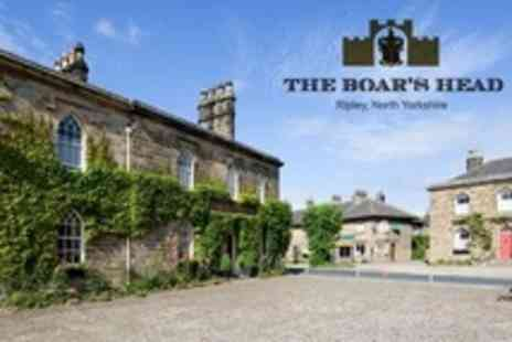 The Boar's Head - One to Three Night Stay For Two With Breakfast - Save 50%