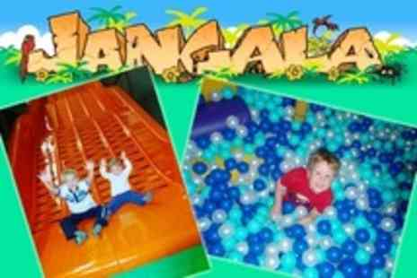 Jangala Softplay - Entry For Two Children and Two Accompanying Adults With Tea or Coffee - Save 61%