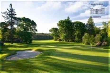 Slaley Hall Spa - 18 Holes of Golf Plus 100 Range Balls Each For One - Save 73%