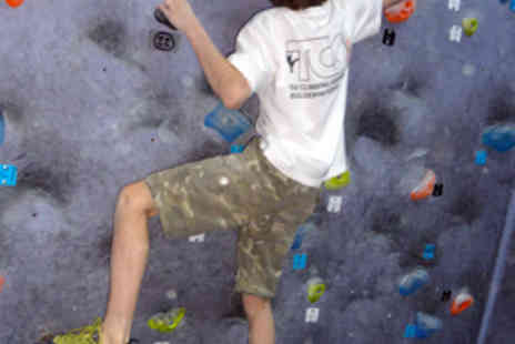 The Climbing Academy - Family Introduction to Bouldering for Four - Save 62%