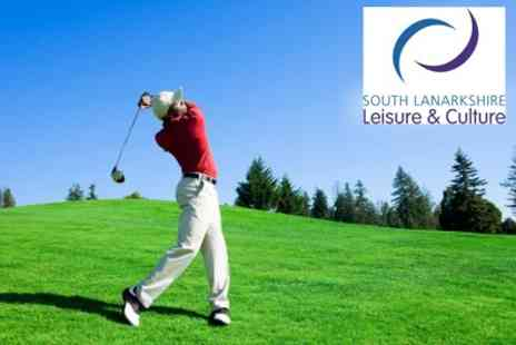 South Lanarkshire Leisure and Culture - Round of Golf at Choice of Four Courses For Two - Save 50%