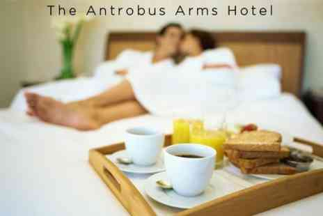 The Antrobus Arms Hotel - One Night Stay For Two Plus Light Lunch and Wine on Arrival and Breakfast - Save 60%