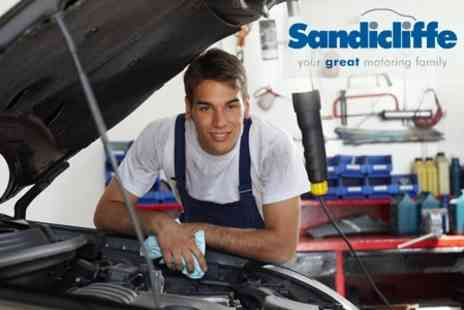 Sandicliffe - MOT for standard vehicle - Save 65%