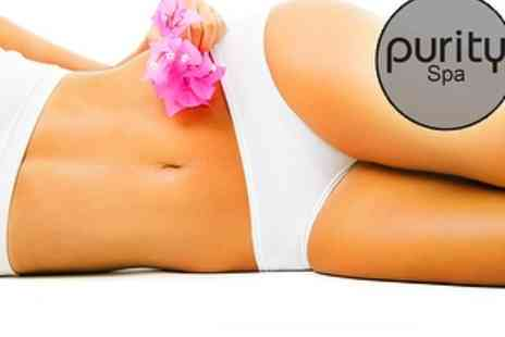 Purity Spa - Fake Bake Spray Tan and a Glass of Bubbly - Save 75%