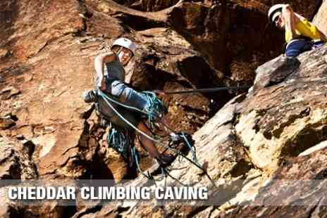 Cheddar Climbing Caving - Rock Climbing and Abseiling Experience - Save 68%