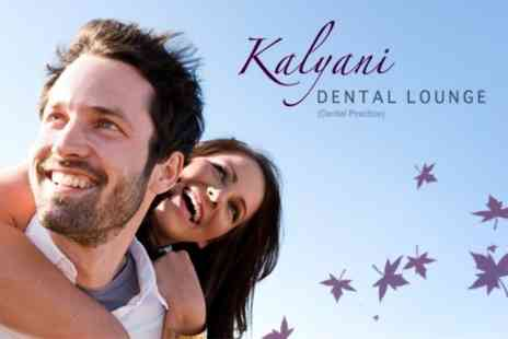 Kalyani Dental Lounge - Cosmetic Clean With Prophy Flex Stain Removal Treatment - Save 60%