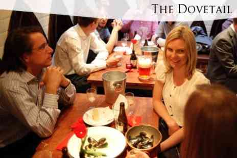 The Dovetail - Two Course Meal For Two With Belgian Beer and Waffles Each - Save 60%
