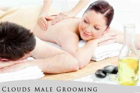 Clouds Male Grooming - Choose Three Spa Treatments - Save 76%