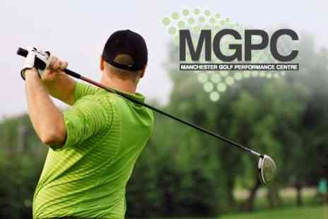 Manchester Golf Performance Centre - One Hour Custom Fitting with a Professional Club Fitter - Save 60%