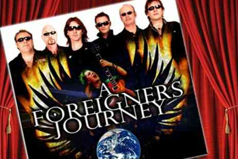 HMV Picturehouse - Ticket to See Tribute Band A Foreigners Journey - Save 50%