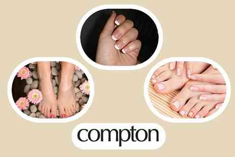 Compton Hair & Beauty -  Manicure and Pedicure plus Discounts on Hair Services or Beauty Treatments - Save 67%