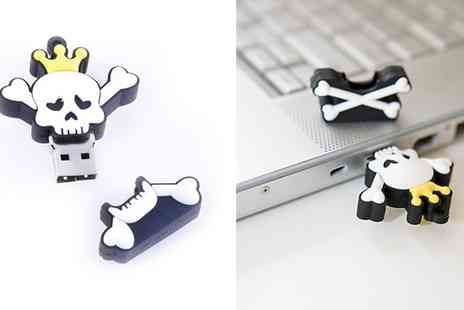 Friends & Trends - NEW Skull Series 8GB Character USB  To Brighten Your Dull Desktop - Save 43%