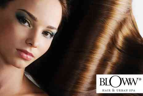 Bloww - Women s haircut, blow dry and deep conditioning treatment - Save 68%