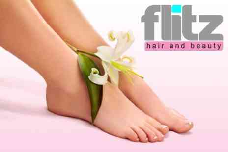 Flitz Hair and Beauty - Garra Rufa Fish Pedicure for £9.50 - Save 60%