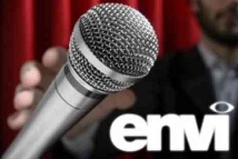 Envi - Comedy Night For Two With Buffet and Wine - Save 53%