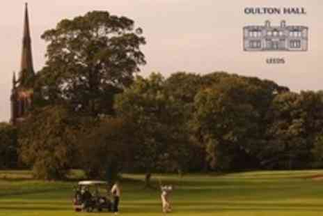 Oulton Hall Golf - Round of Golf and 100 Driving Range Balls For One - Save 75%