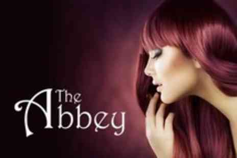The Abbey - Choice of Colour Treatment Such as Full Head Highlights Plus Cut, Conditioning Treatment - Save 64%