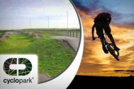 Cyclopark - BMX Induction and One Hour Lesson Plus Two Hour Supervised Ride - Save 56%