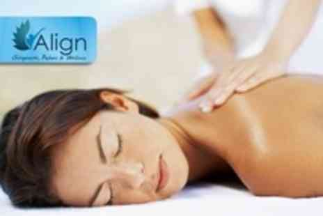 Align - 75 Minute Therapeutic Massage - Save 65%