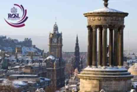 Royal Over Seas League Hotel - In Edinburgh One Night Stay For Two With Breakfast - Save 64%