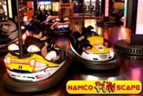 Namco Funscape - Bowling, Bumper Cars and Video Games - Save 68%