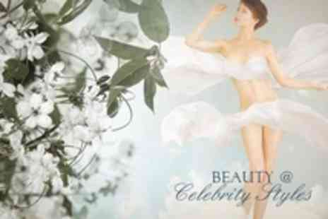 Beauty @ Celebrity Styles - Beauty Package Choice of Three Treatments - Save 60%