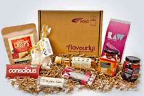 Flavourly - One month supply of the Artisan snack boxes - Save 55%